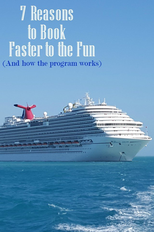 7 Reasons to book faster to the fun on Carnival Cruise lines