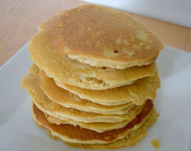 Enjoy your delicious oatmeal pancakes