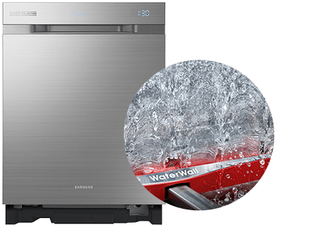 Samsung WaterWall dishwasher with revolutionary cleaning technology