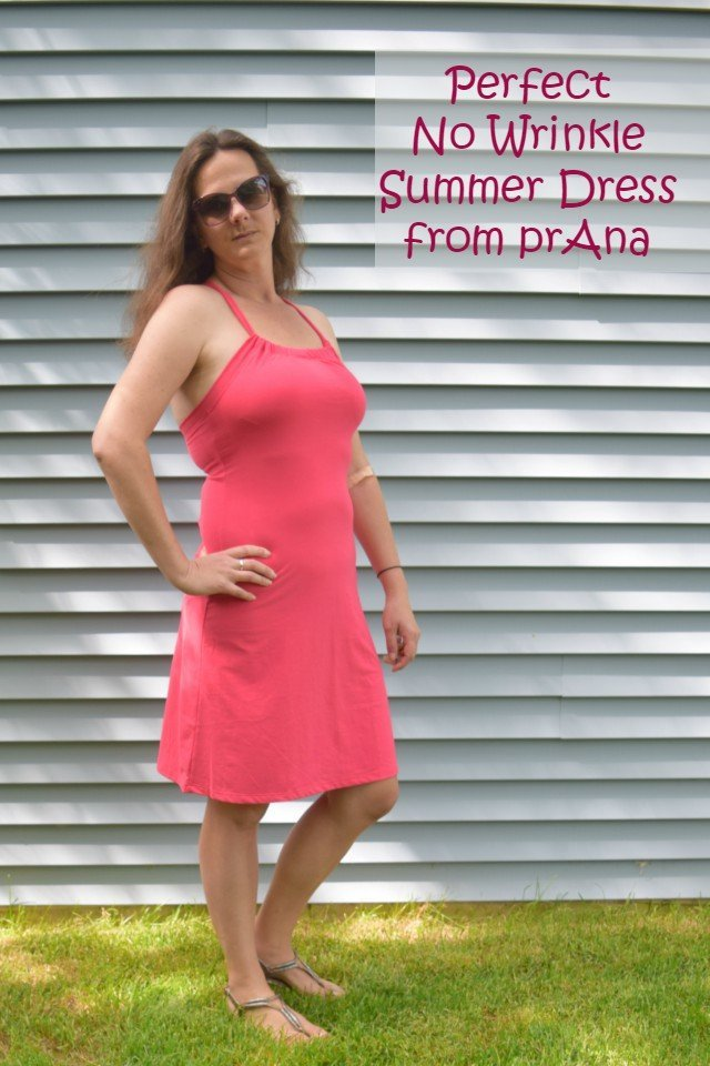 No wrinkle perfect summer dress from prAna. The Quinn dress is flattering, doesn't wrinkle, and is super comfy. It makes a great day to night dress, too.