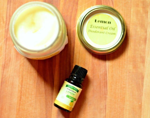 Homemade Deodorant Cream