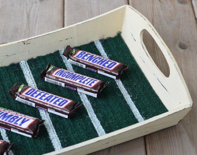 Perfect Easy DIY Football craft