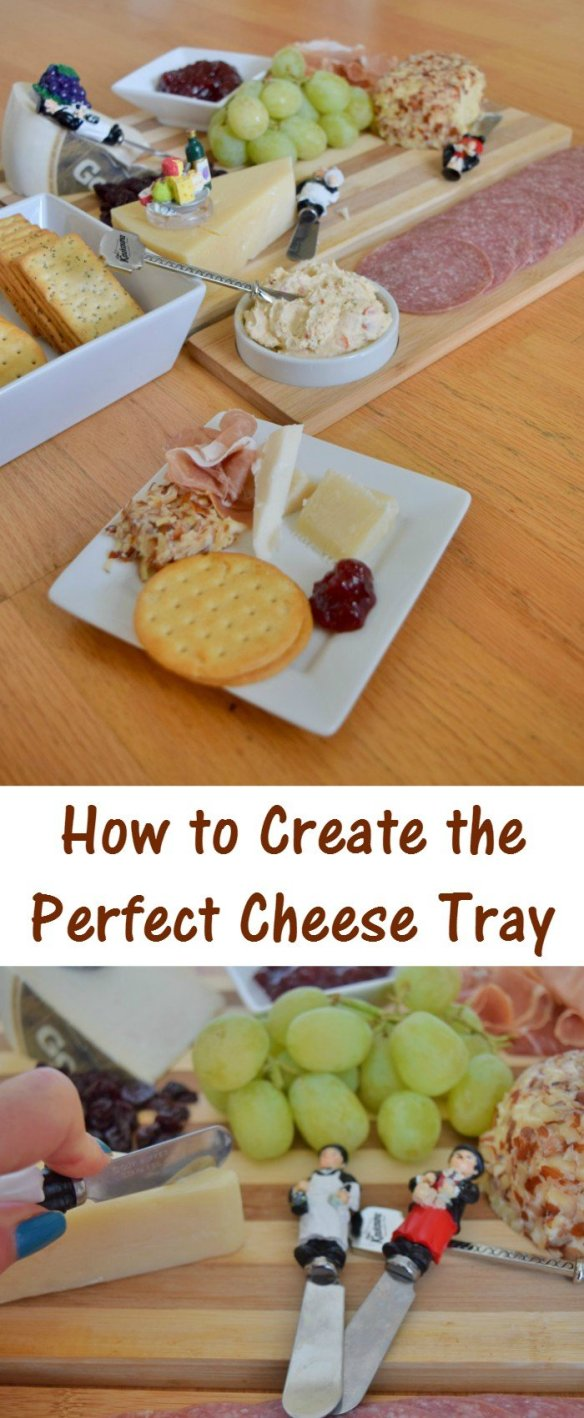 The perfect cheese tray can be daunting. This tutorial shows how to quickly and easily put together a great appetizer cheese board for holiday entertaining - or just for yourself to enjoy a cheese plate.