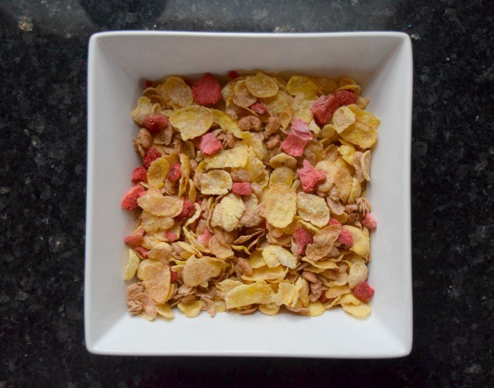 Prep cereal for topping