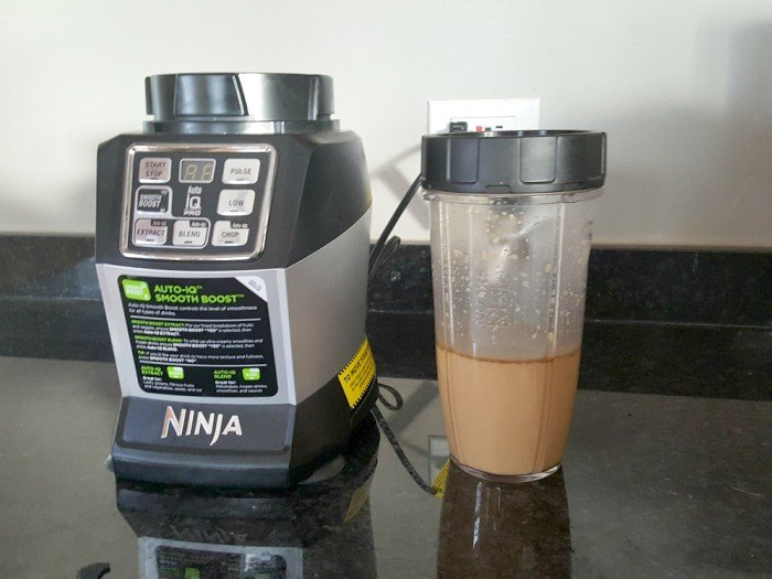 Blend Bulletproof Coffee before drinking