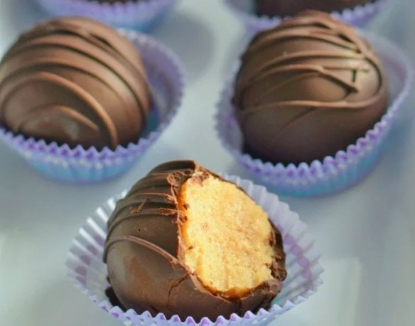 Brown Sugar Cookie Dough Truffles