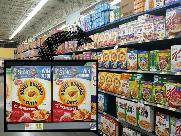 Honey Bunches of Oats at Walmart