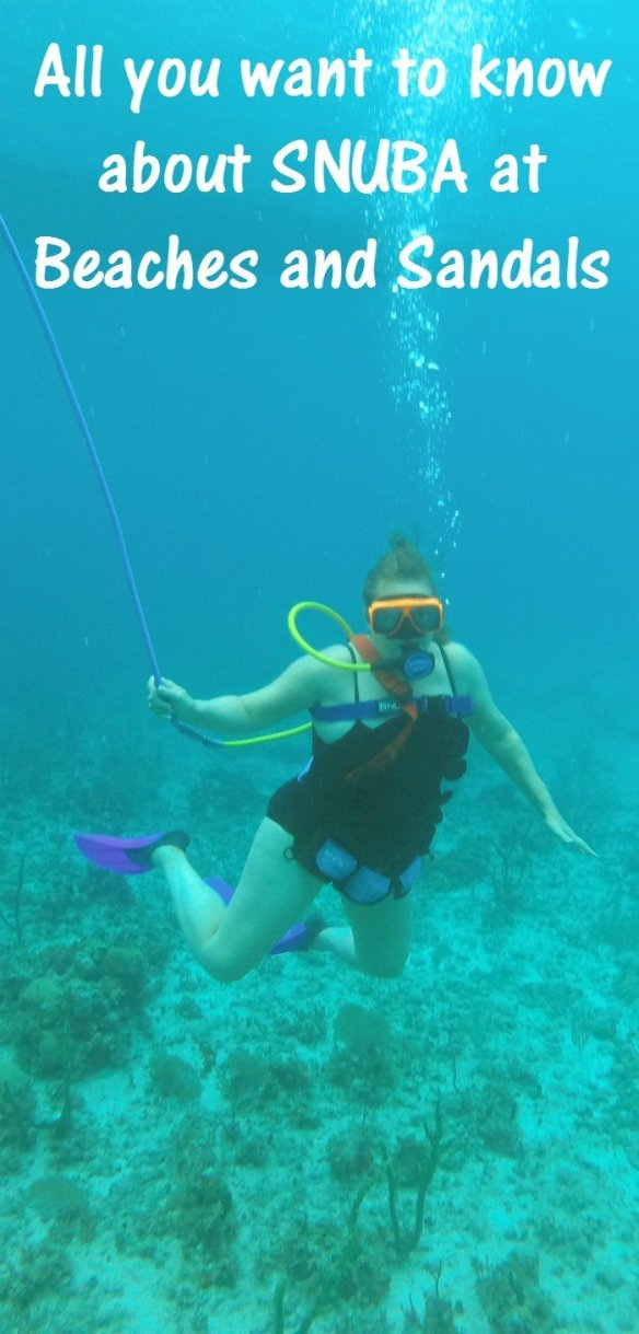 All you need to know before you sign up for Beaches SNUBA activity. This new watersport is a cross between snorkeling and SCUBA diving. You can find it at select Sandals Resorts and Beaches Resorts for the ultimate vacation experience.