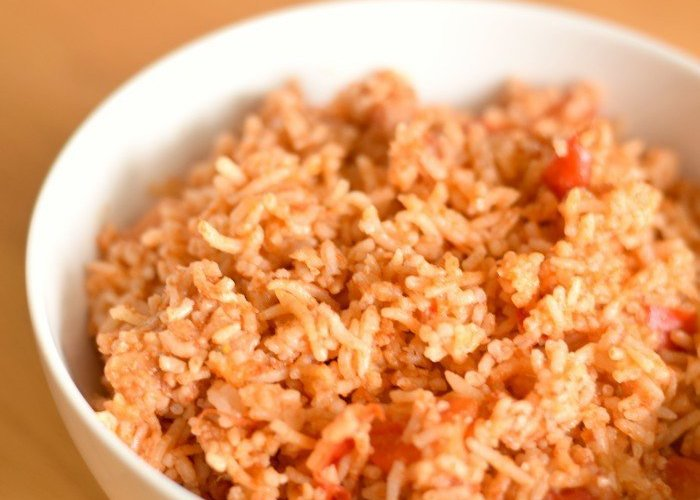 Easy peasy Spanish Rice in the Instant Pot