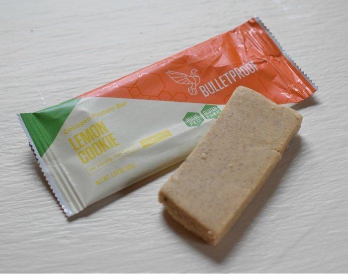 Bulletproof Lemon Cookie snack