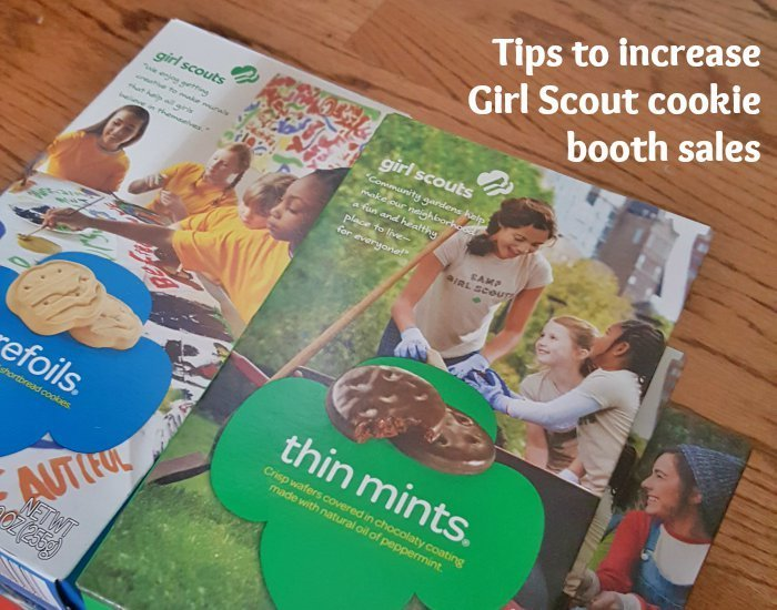 9 simple tips to increase Girl Scout cookie booth sales