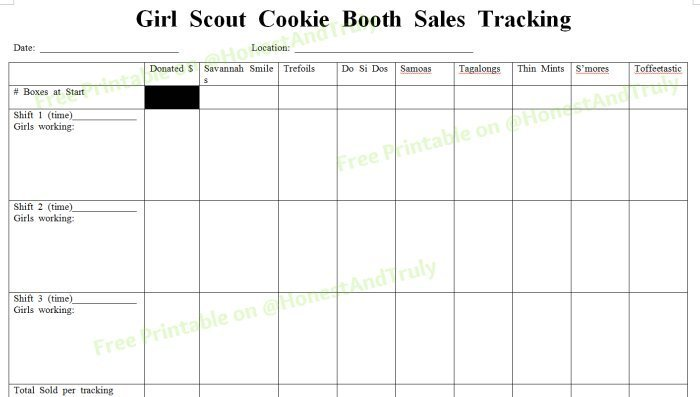 9 tips to increase girl scout cookie booth sales