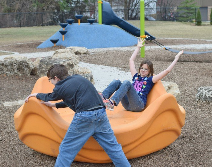 Playground Benefits kids by teaching cooperation