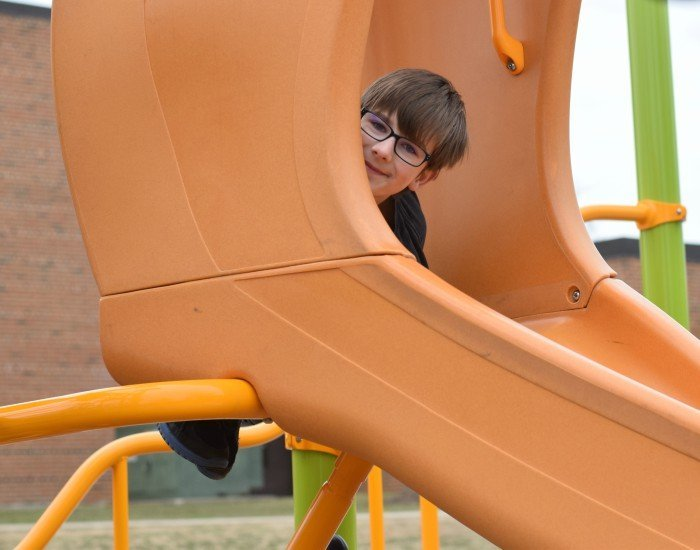 Playground benefits include encouraging creative play