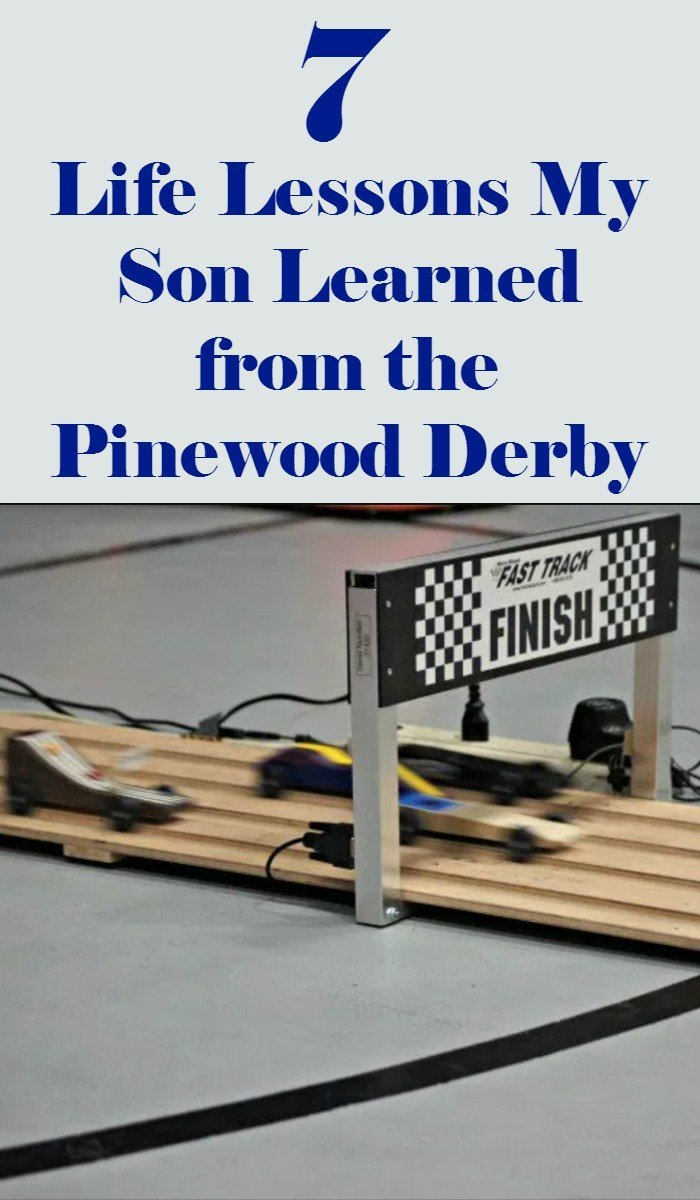 7 Pinewood Derby lessons my son learned that have helped him become a better person after Boy Scouts