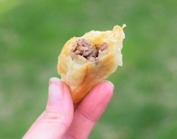 Mini beef empanadas from scratch with honey habanero