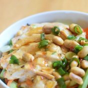 How to make kung pao chicken salad recipe