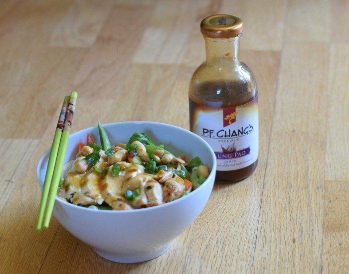 Kung pao chicken salad PF Chang
