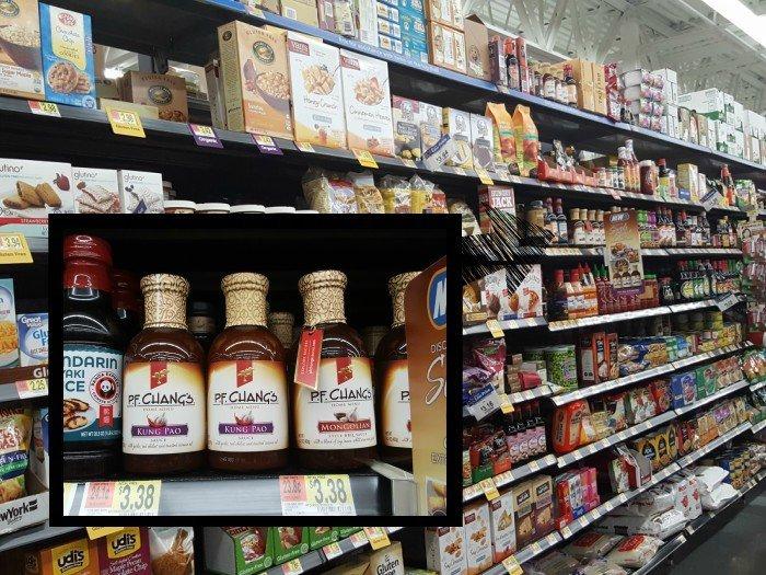 PF Changs home menu sauces at walmart