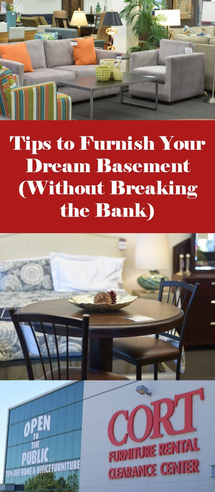 Tips to furnish your dream basement without breaking the bank. Once you refinish that space, here how you find and buy basement furniture without breaking the bank. Create an area you'll want to spend time in!