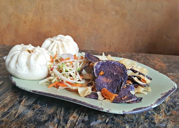 Steamed Pods Bao Buns at Satuli Canteen In Disney Animal Kingdom dining option