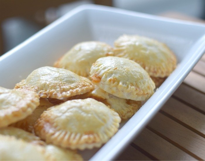 Try your own recipe for cheesy chicken empanadas