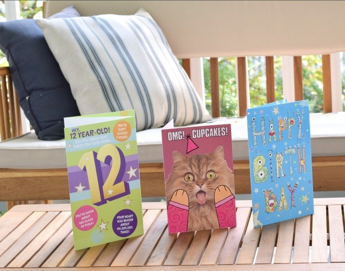 Perfect American Greeting birthday cards for a 12 year old