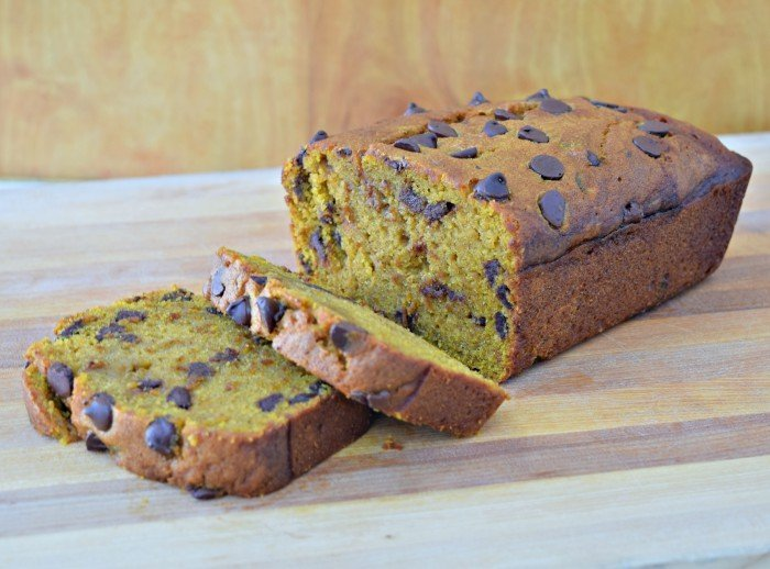 Enjoy delicious from scratch pumpkin bread