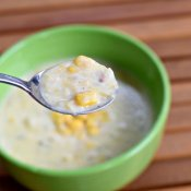 Taste of Instant Pot corn chowder recipe