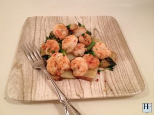 healthy and easy shrimp stir fry