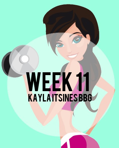 Kayla Itsines Week 11 BBG