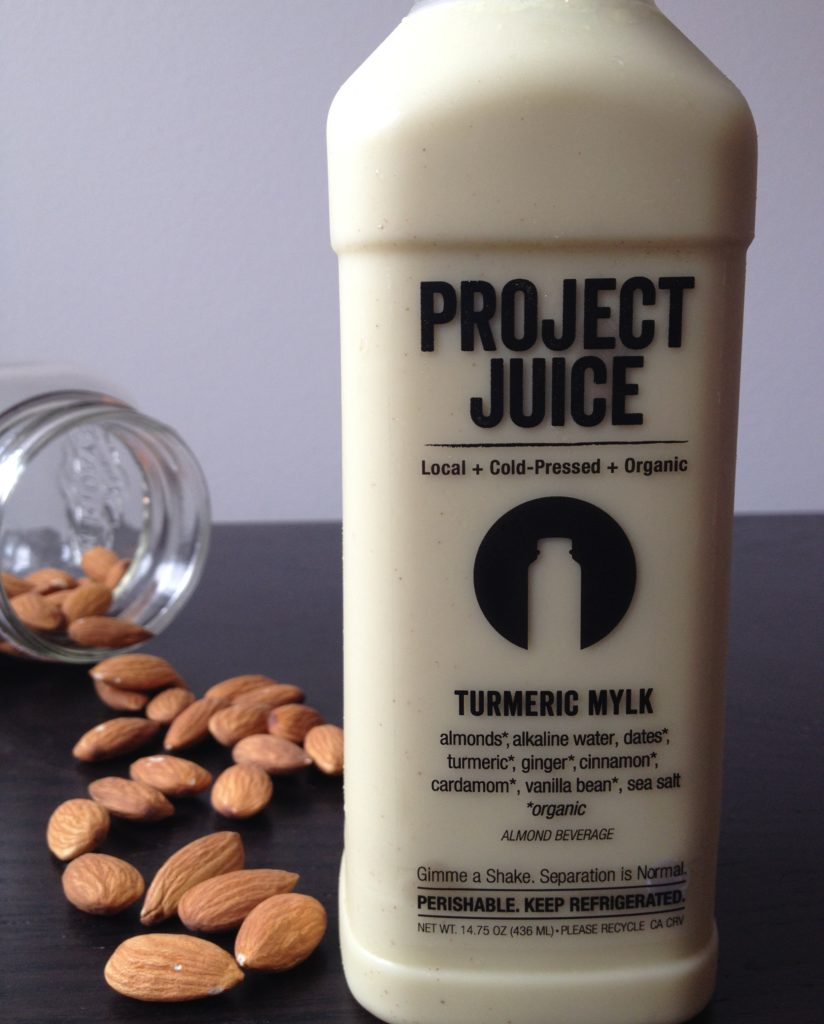 review of project juice turmeric mylk San Francisco