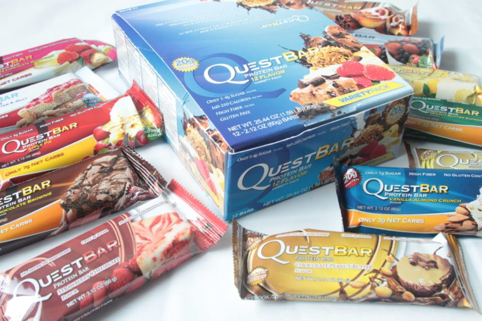 review of the best protein bars from Quest Nutrition