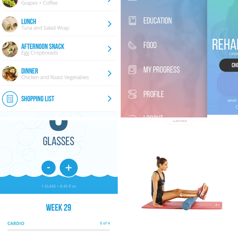 Kayla itsines sweat with kayla app review honestly fitness sweat with kayla app food features fandeluxe Images