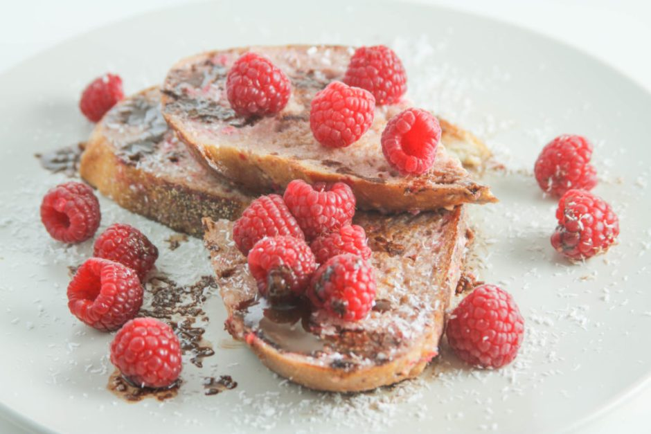 easy and healthy raspberry french toast recipe