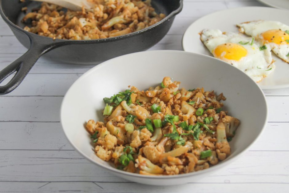 best cauliflower hash skillet recipe