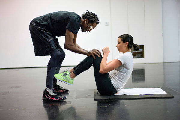 victoria secret workout interview with victorias secret trainer michael olajide jr