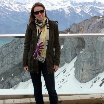 FashionablyEmployed.com | Standing at the top of Mount Pilatus in Lucerne, our most beautiful day in Europe ever