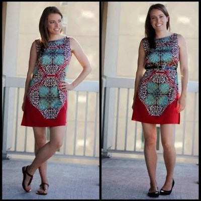 Remix It Up Series: A Thrifted Refashioned Dress