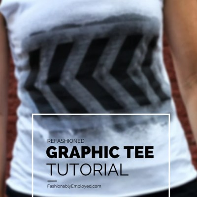 Perfect Failure: Refashioned Graphic Tee DIY