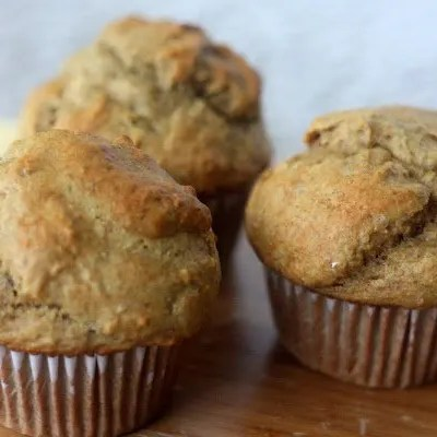Healthier Banana Muffins – Another Breakfast Shortcut