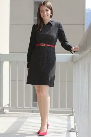 Red Shoes With Black Dress