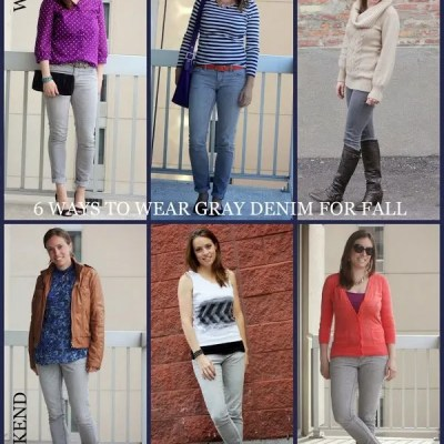 Remix It Up ~ Gray Jeans