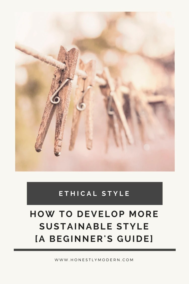 Check out this Intro to Sustainable Style Series to make an impact on your world with the clothes you wear each day.