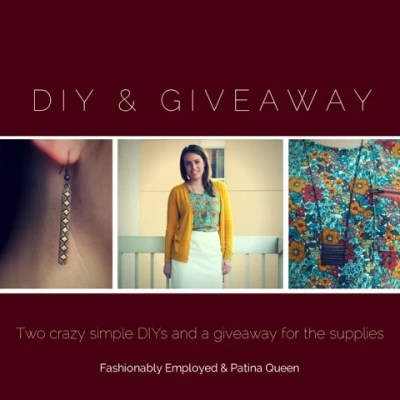Giveaway | Simple DIY Necklace & Earrings