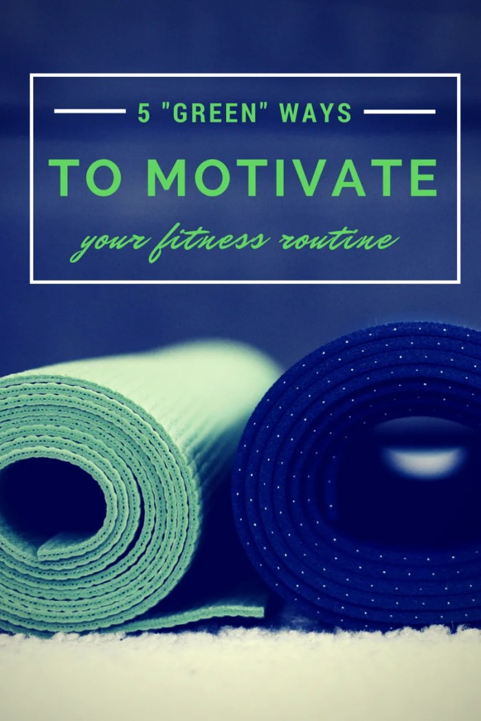 "FashionablyEmployed.com | 5 ""Green"" Way to Motivate Your Fitness Routine 