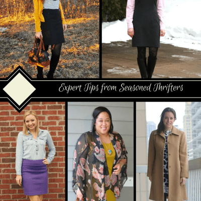 Dozens of Thrifitng Tips from Seasoned Thrifters for On-Trend & On-Budget Style