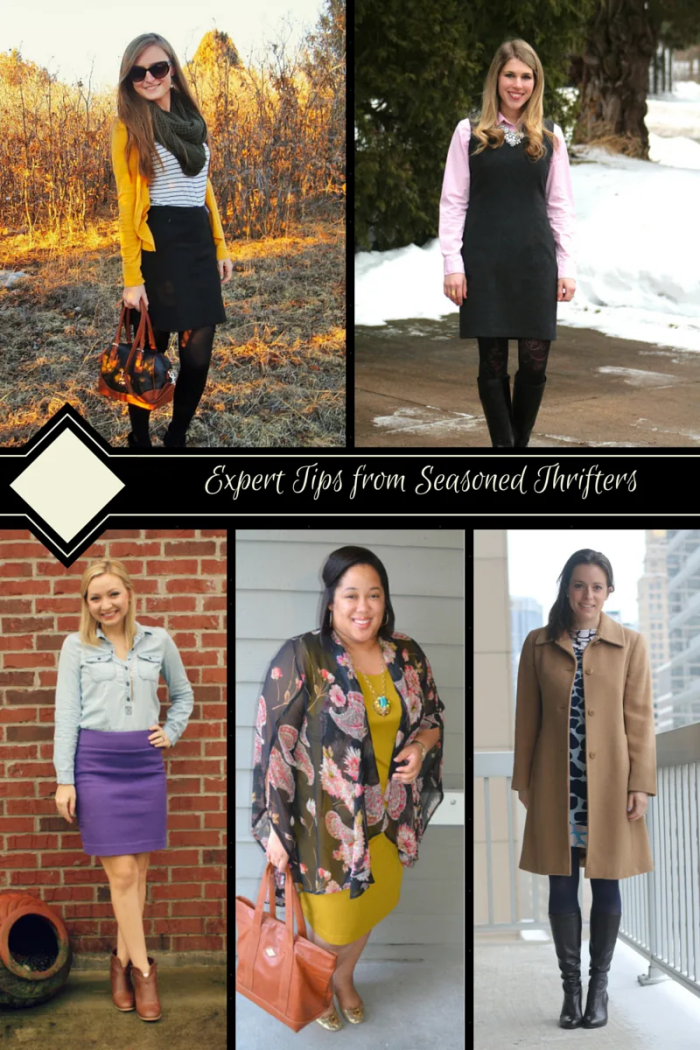 FashionablyEmployed.com | Intrigued by thrifting but unsure where to start? It can be a great way to build a wardrobe on a budget. Check out these thrifting tips from 5 seasoned thrifters