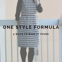 FashionablyEmployed.com | Ever feel frustrated by figuring out what to wear? Inspiration is everywhere! Sometimes we just look too literally. Check out five interpretations of one outfit created by making small but meaningful changes in the vibe of the outfit.