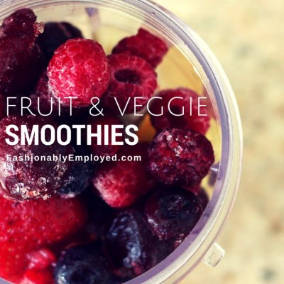 Fruit AND Veggies Drinks? Trusting the Pros